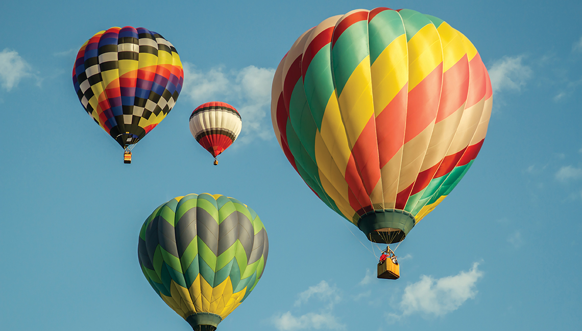Hot air balloons (Credit: Getty Images)