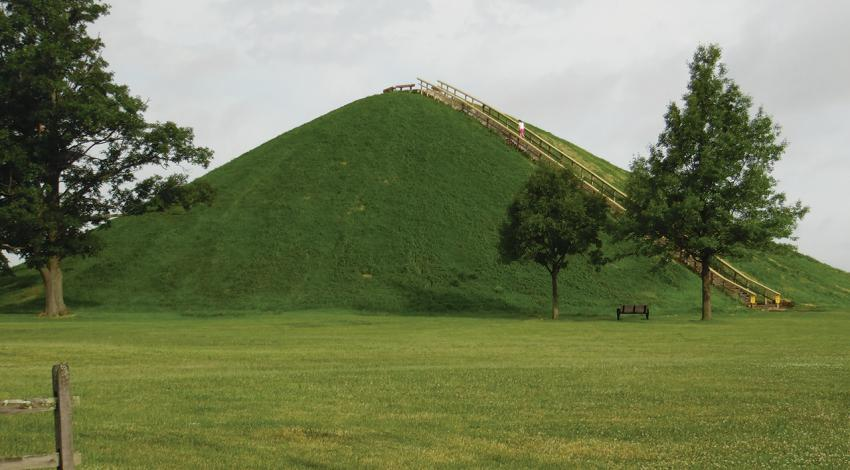A picture of Miamisburg Mound.