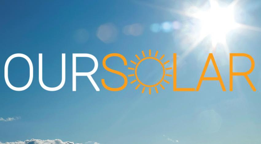 A picture of OurSolar's logo.