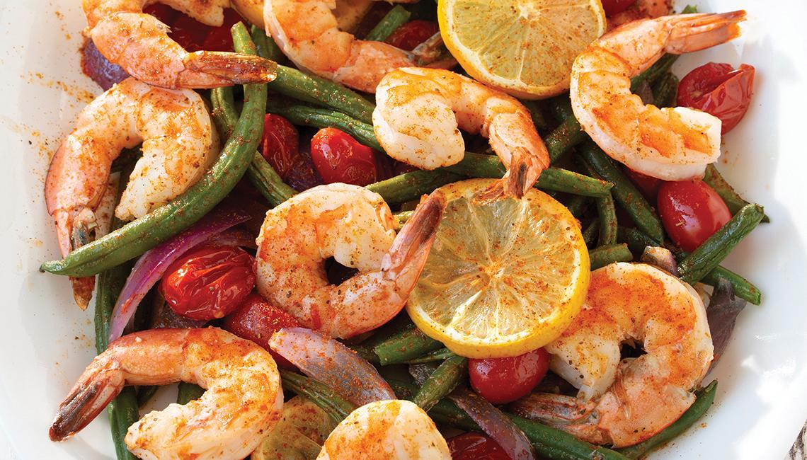 Sheet Pan Shrimp